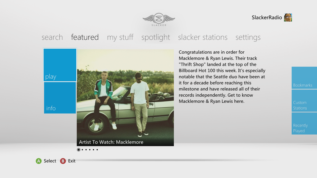 Slacker reintroduces itself with redesigned music streaming apps