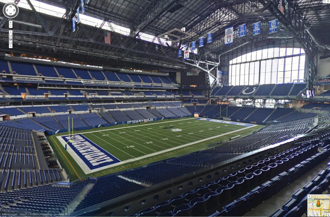 Colts Lucas Oil Stadium Tours