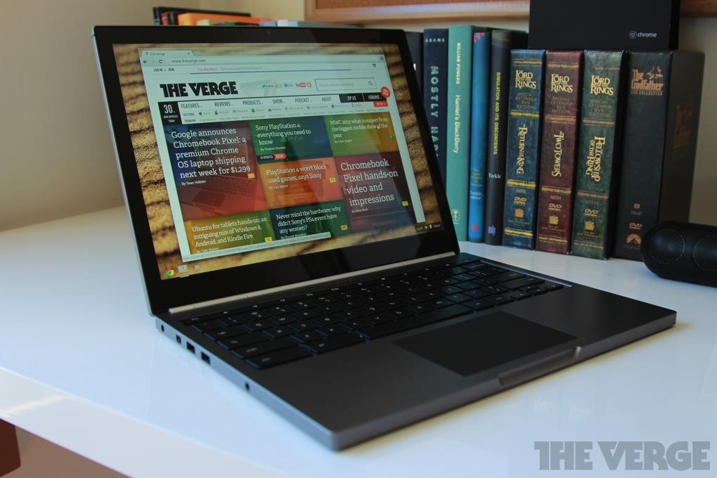 Google announces Chromebook Pixel: a premium Chrome OS