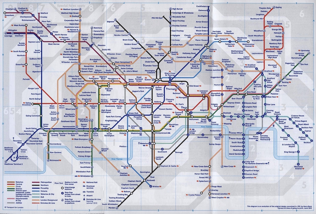 Q Line Subway Map.Meet Harry Beck The Genius Behind London S Iconic Subway Map The