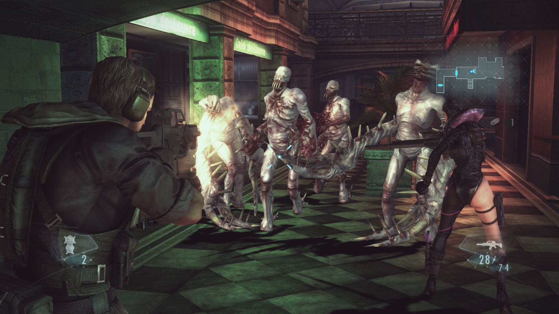 Resident Evil: Revelations PC screens and system