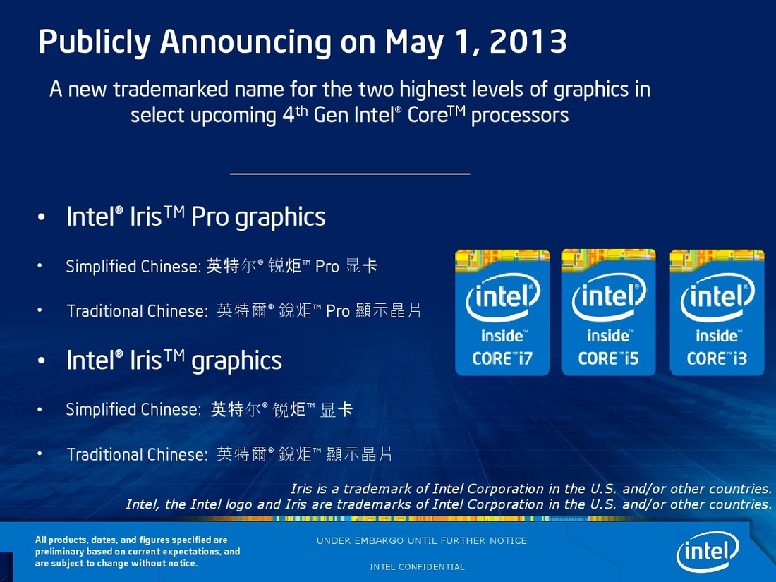 Intel's new 'Iris' integrated graphics are up to three times better
