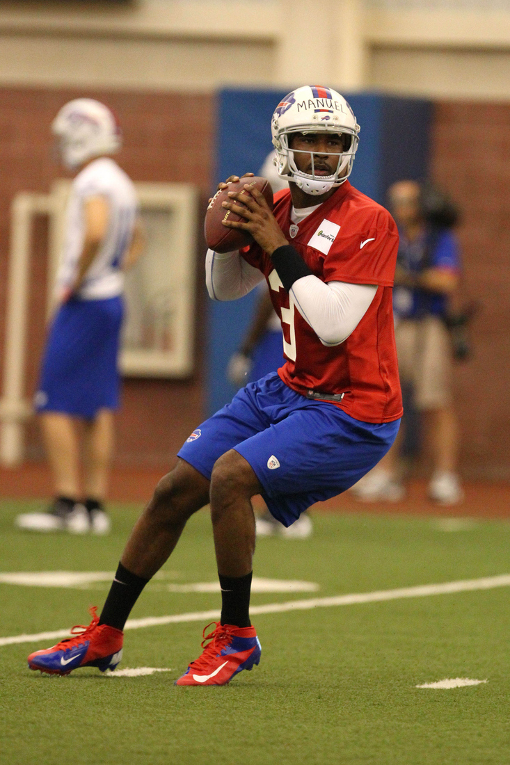 EJ Manuel, Buffalo Bills rookie minicamp: photos from Day 1 - Buffalo Rumblings