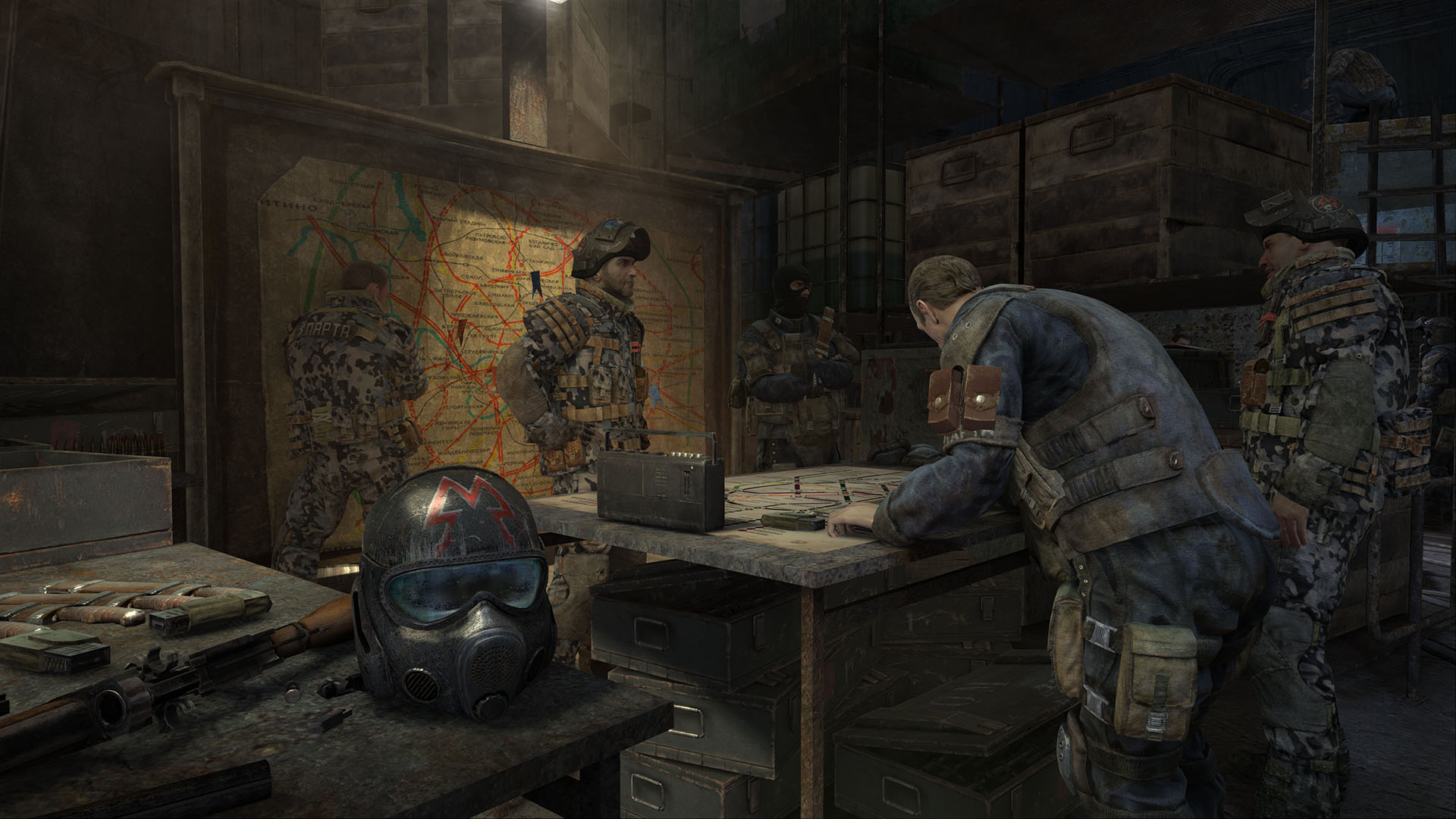 Metro Last Light Review Red Scare