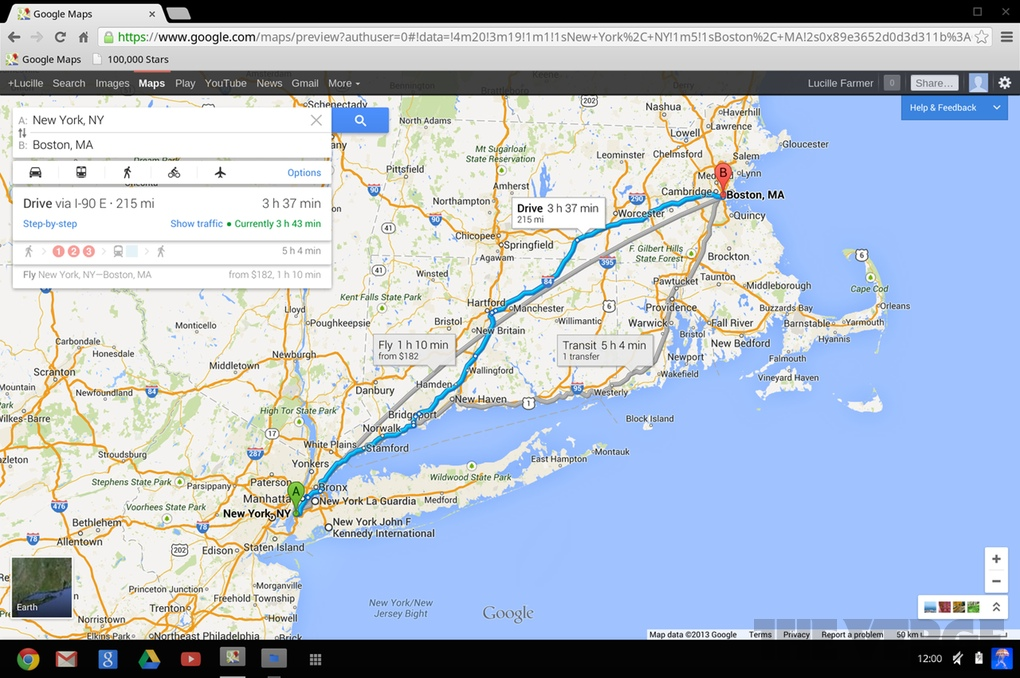 Google Maps for desktop: hands-on with the world's most