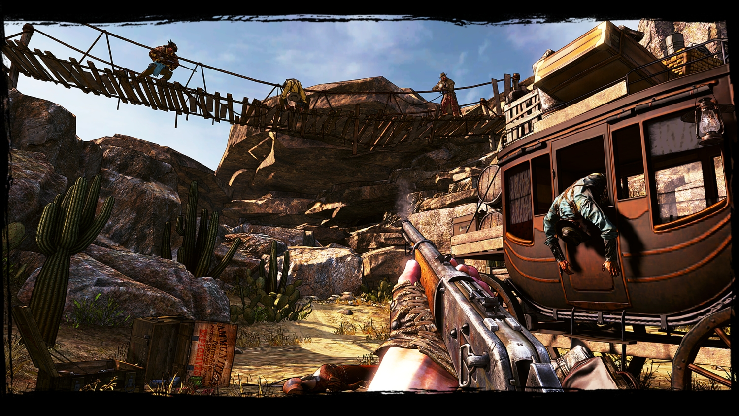 Call of Juarez: Gunslinger launch trailer discusses the many ways to shoot bad guys in the face