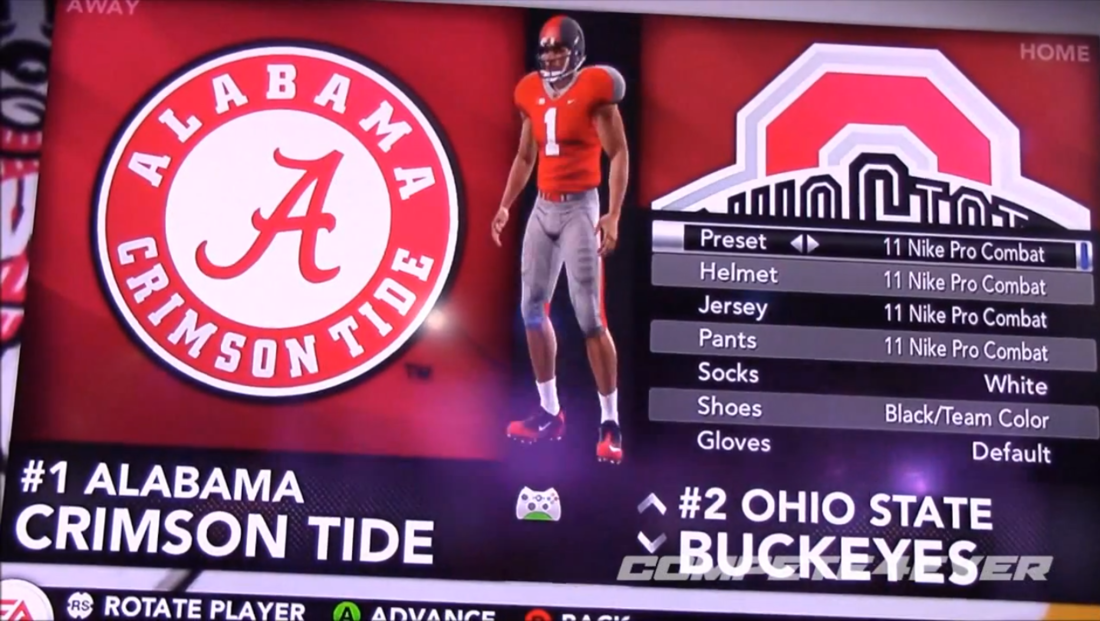 Photos Ohio State Uniforms In Ncaa Football 14 Land Grant Holy Land