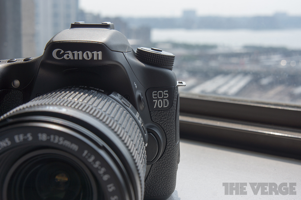 Canon introduces EOS 70D DSLR, says its autofocus changes the game