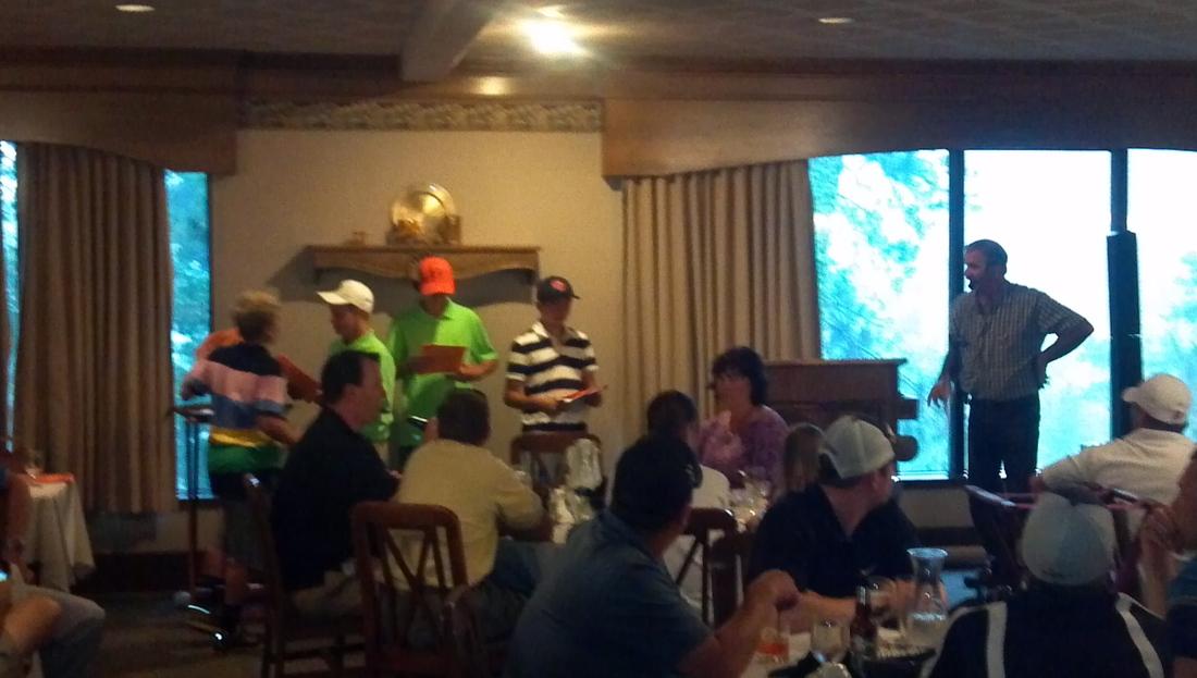 my day at the joe pavelski charity golf tournament bucky