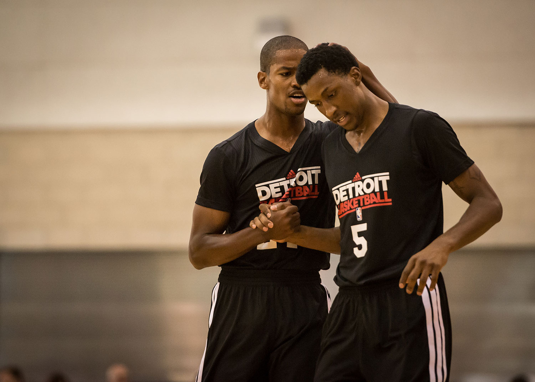 078a442df759 NBA Orlando Summer League  Pistons at Nets Inside Look - Detroit Bad Boys