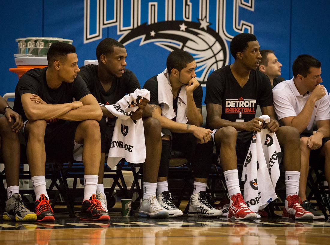 0b3e5bc48502 NBA Orlando Summer League  Pistons at Nets Inside Look - Detroit Bad ...