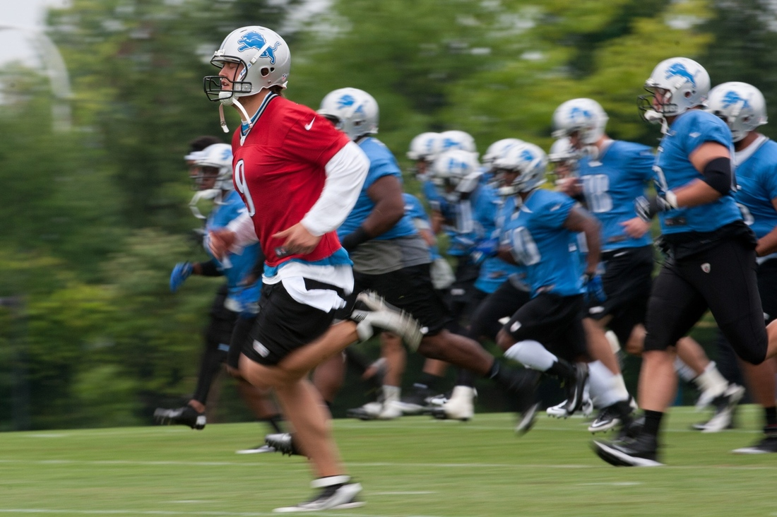 detroit lions youth camp 2013