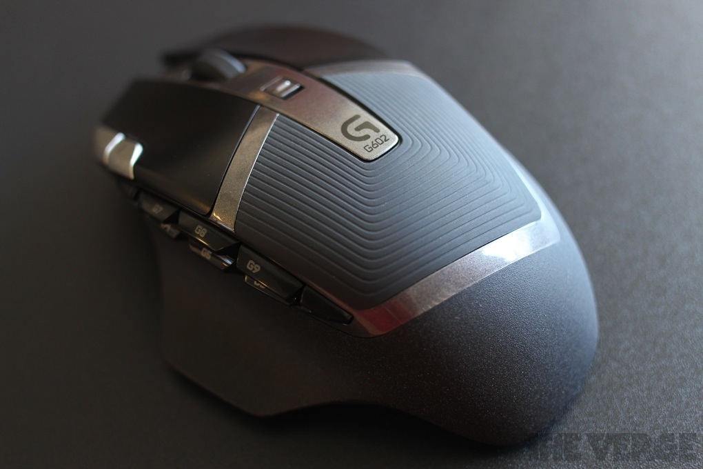Logitech G602 pictures - The Verge