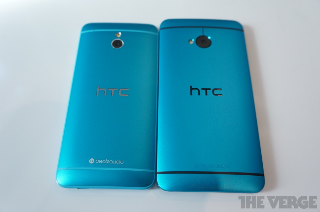 Htc One Mini Colors HTC goes cyan with Viv...