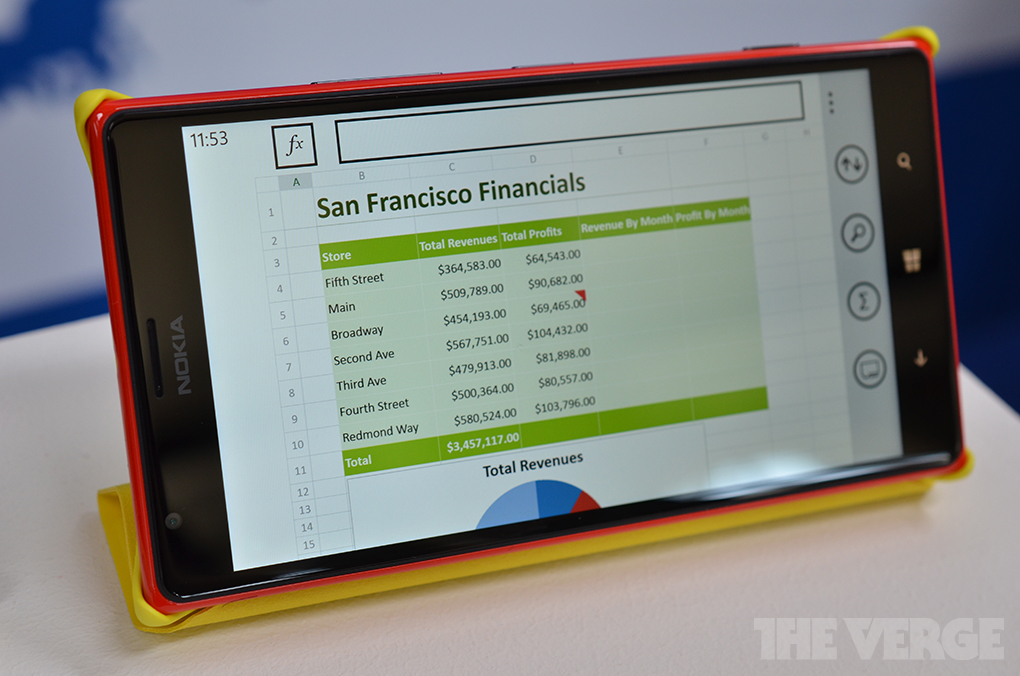 Nokia Lumia 1520 A First Look At A 6 Inch Giant Windows