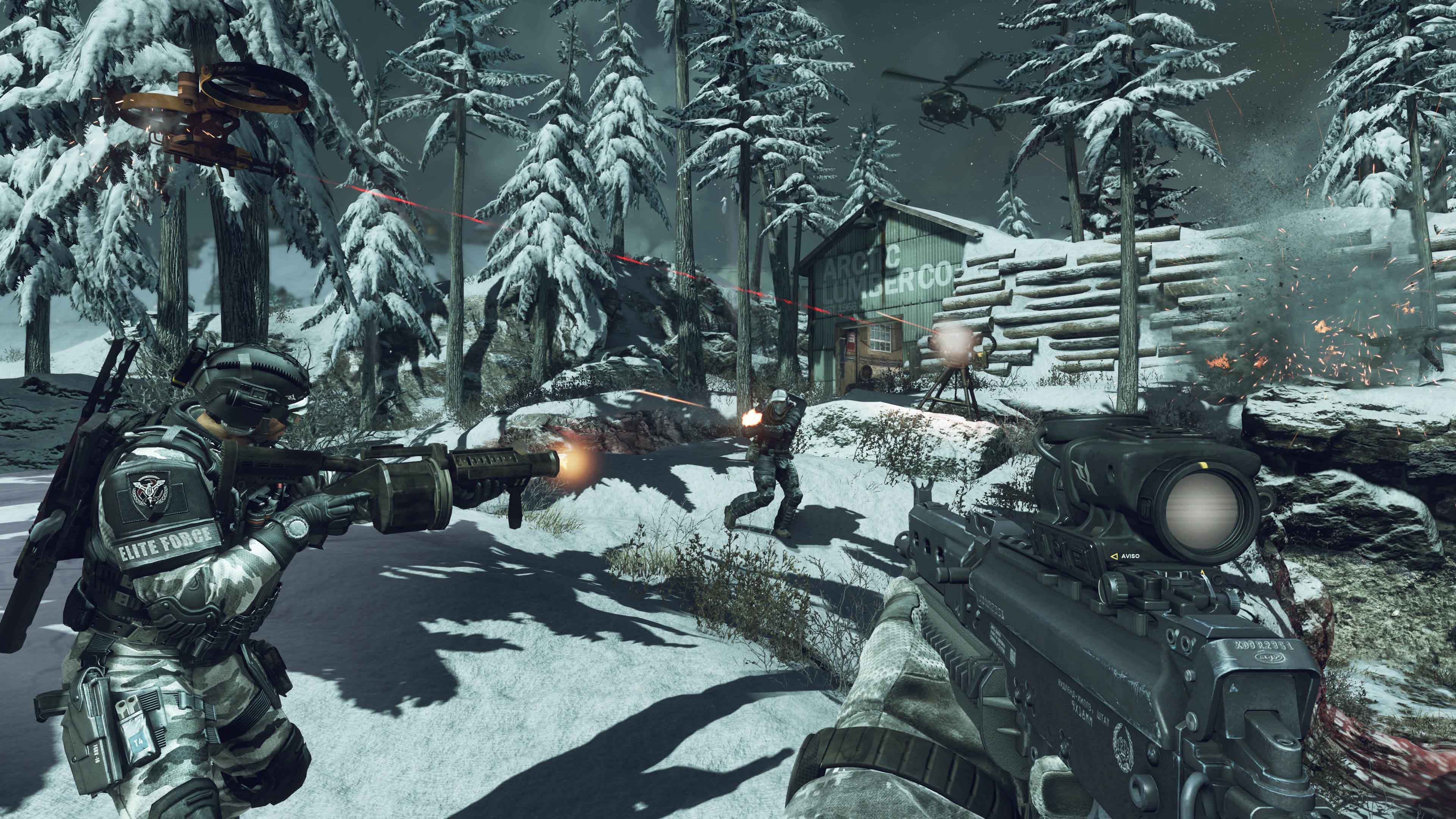 Call of duty ghosts review for the dead polygon sciox Image collections