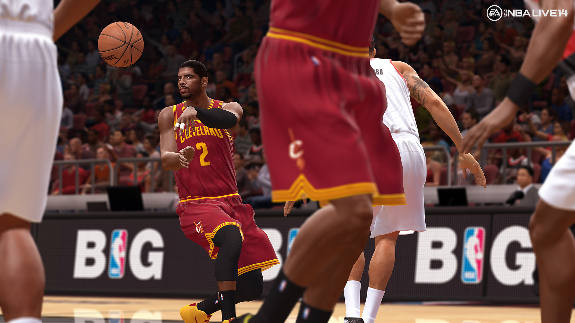 NBA Live 14s Title Describes Its Developers Philosophy