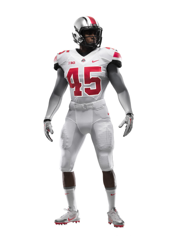 Ohio State s released a gallery of photos of the all-white alternate