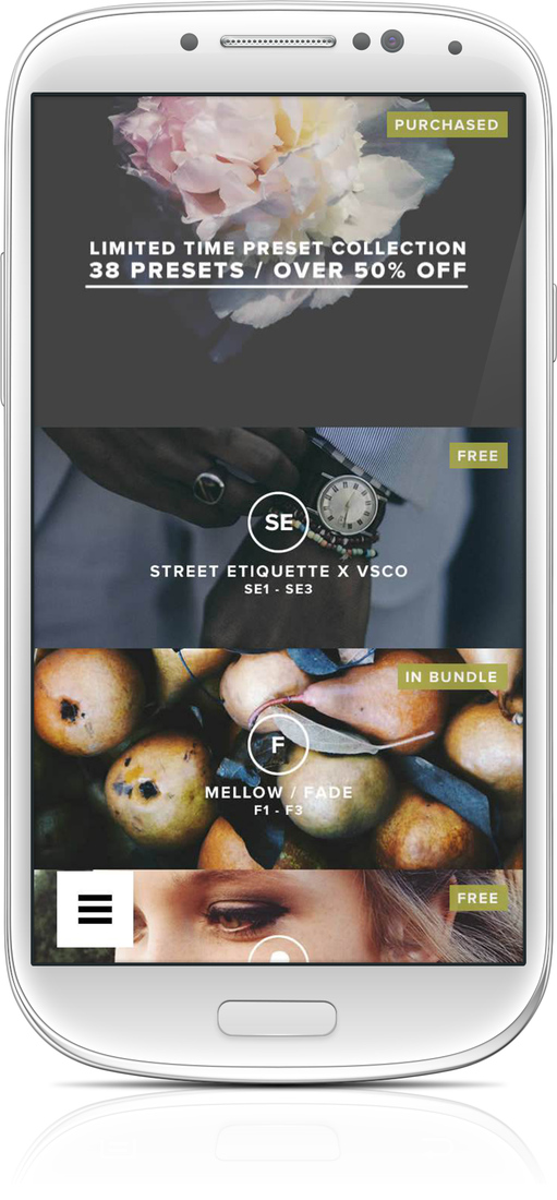 download vsco full pack apk