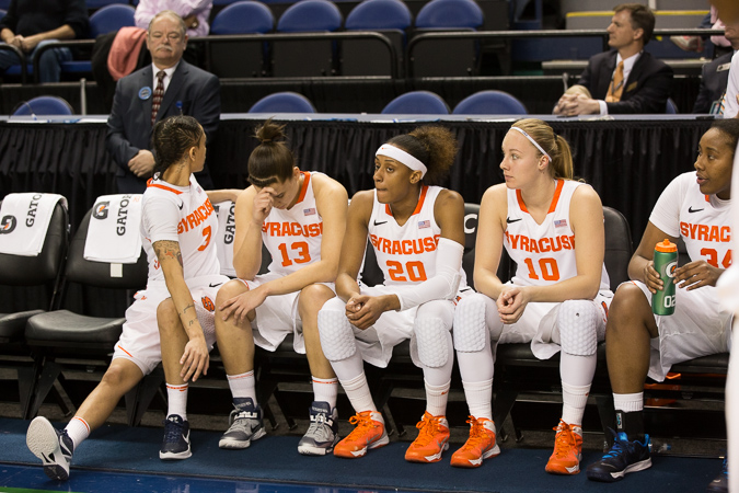 Clemson Basketball Beats Syracuse Strengthens March: 2014 ACC Women's Basketball Tournament Photo Gallery