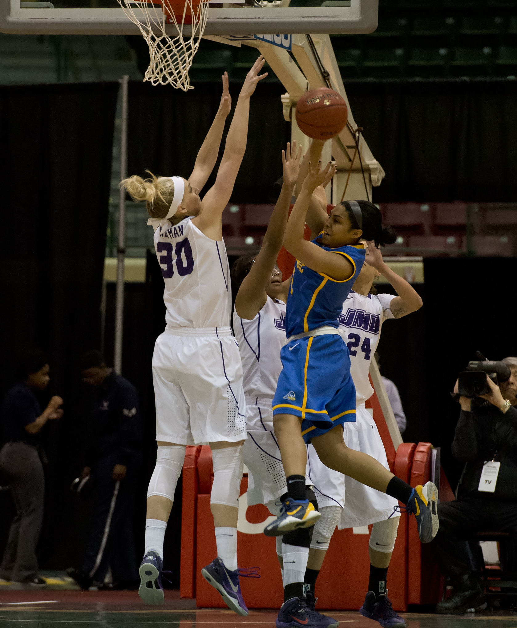 CAA Defensive Player of the Year Nikki Newman blogs about