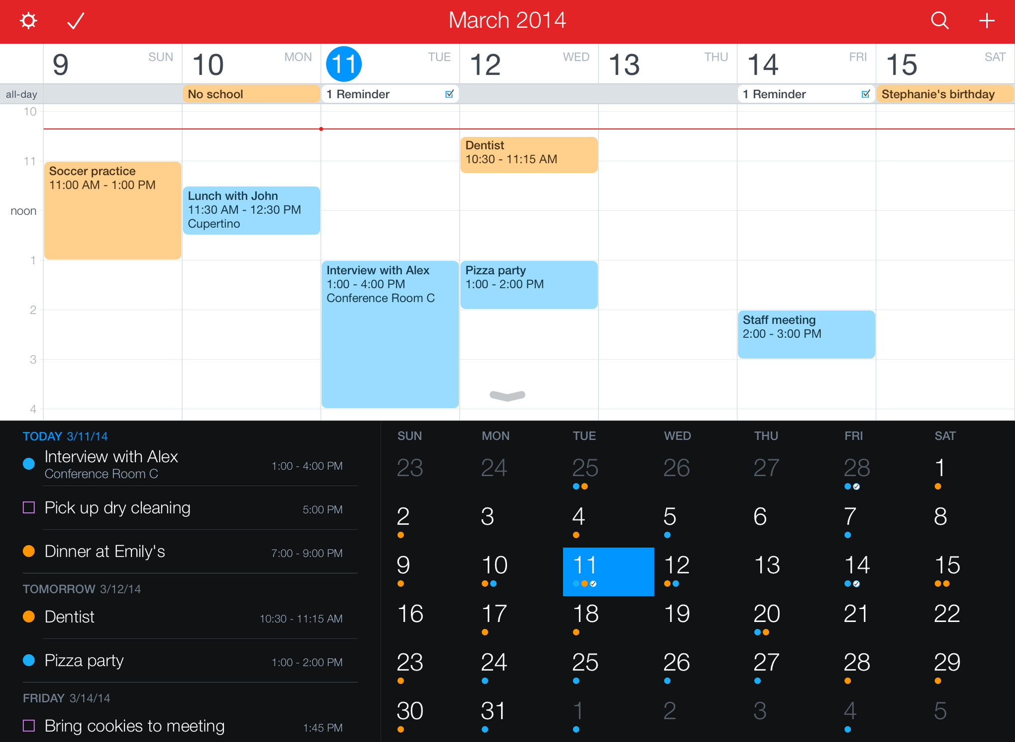 Free cross platform calendar app with to-do lists? : productivity