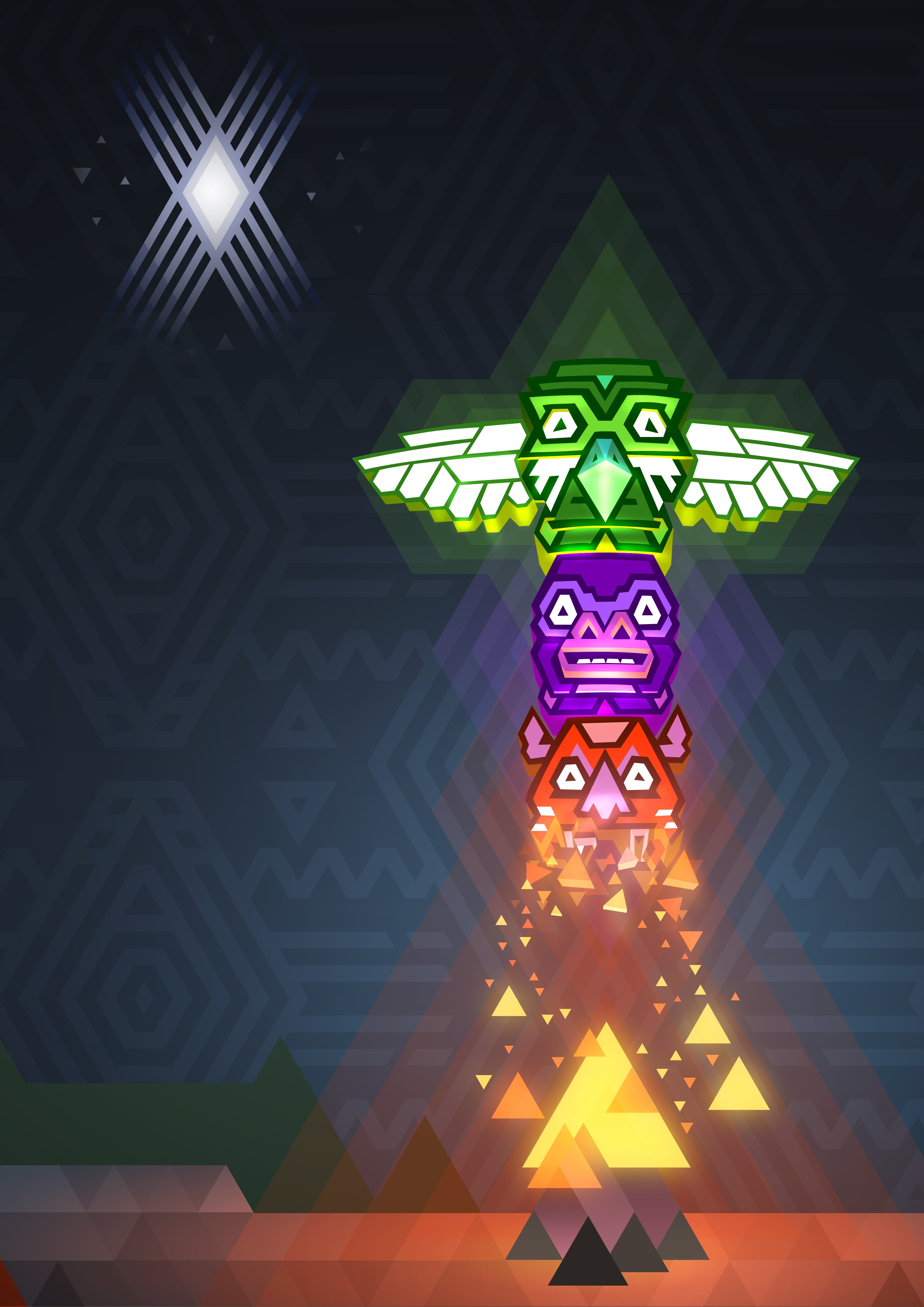 Project Totem harkens back to simple, clean and precise platforming