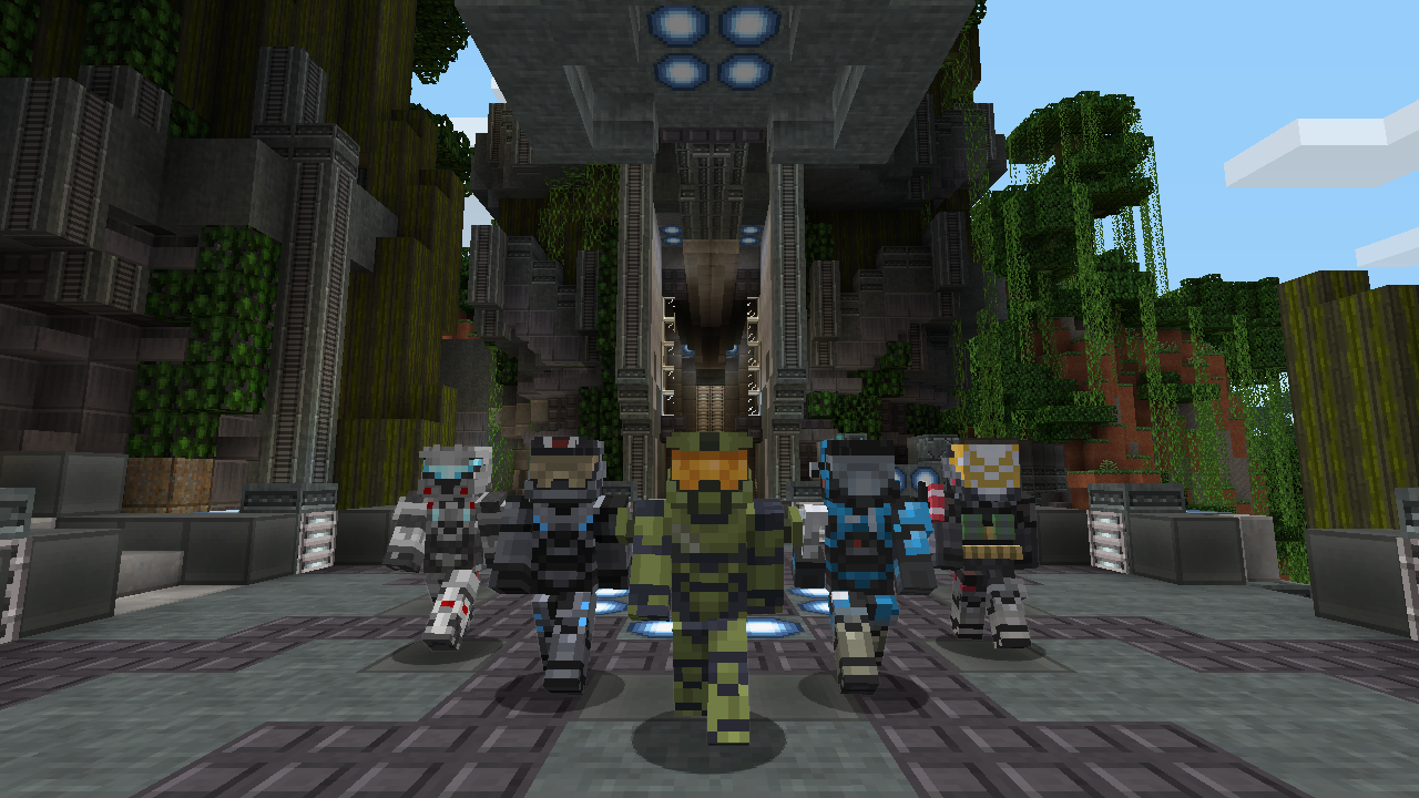 Here's what Halo looks like in Minecraft: Xbox 360 Edition