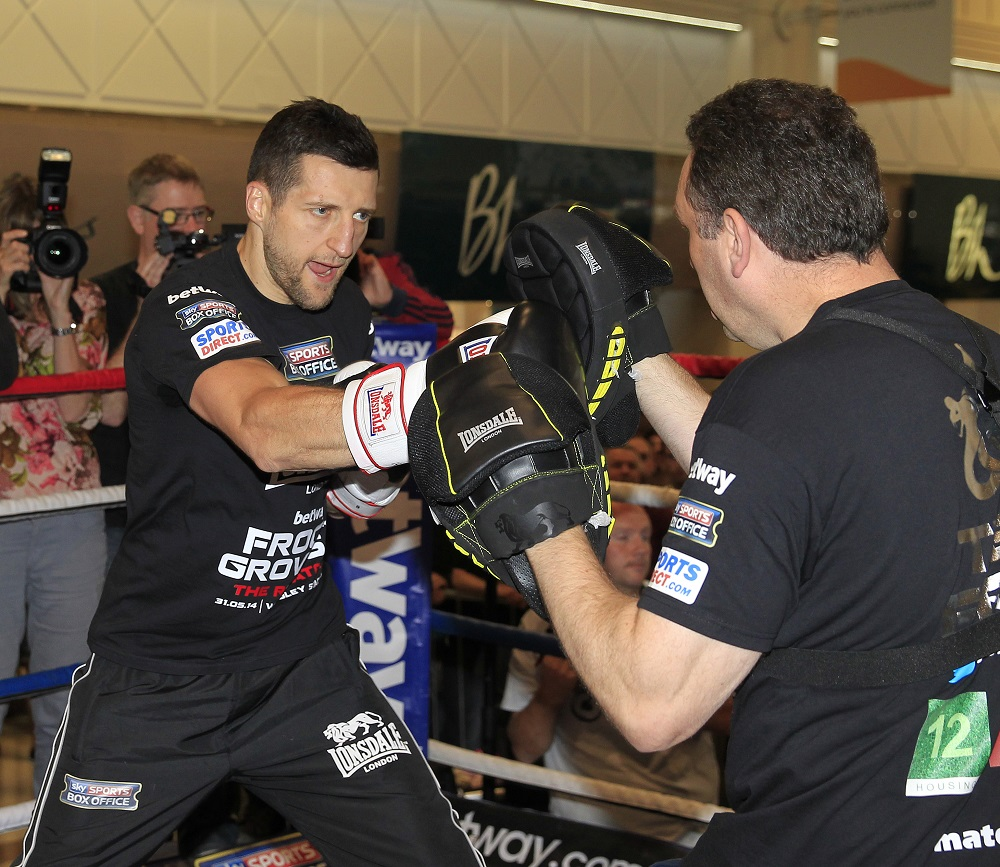 Photos: Carl Froch Media Workout Ahead Of Rematch With