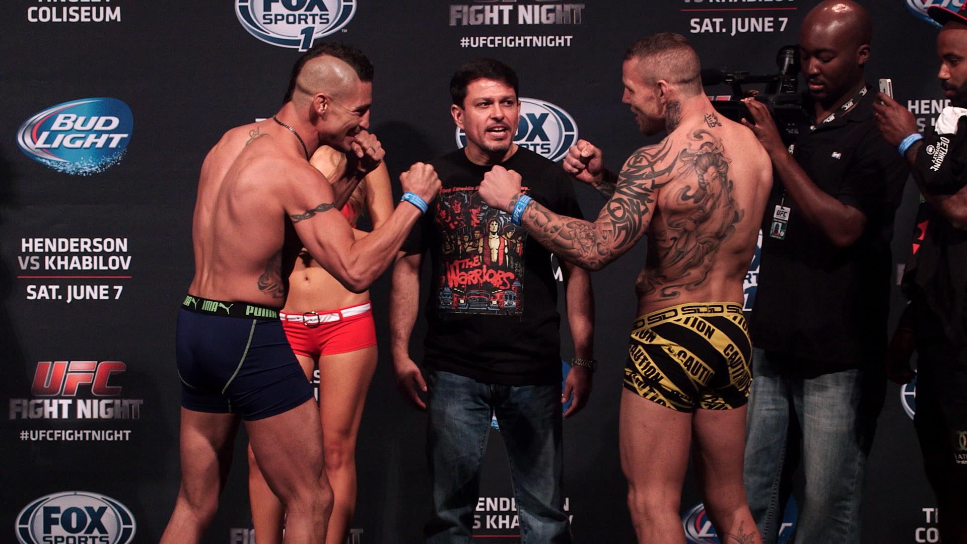 UFC Fight Night 42 weigh-in ph...