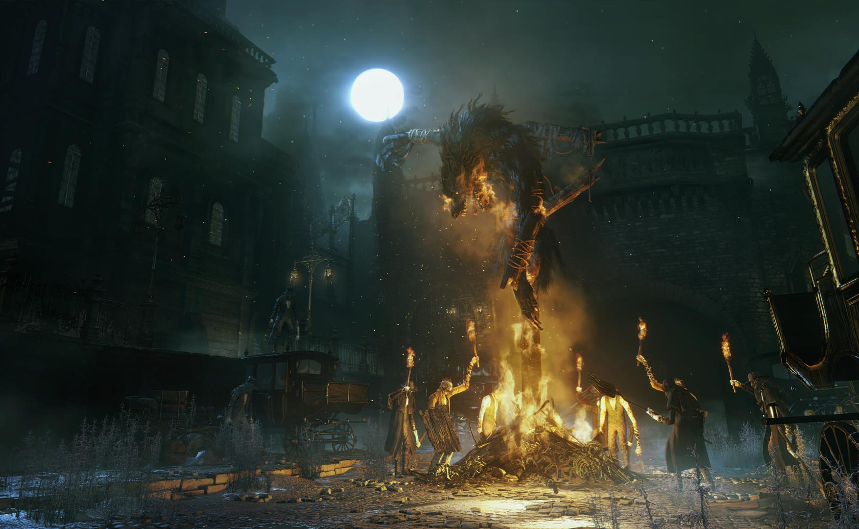 Bloodborne has an illness, a journey and a terribly twisted town