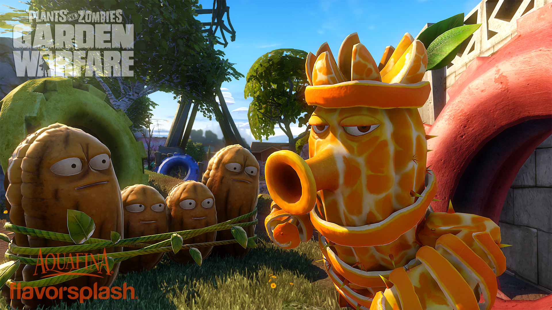 Plants vs. Zombies: Garden Warfare - Aquafina characters - Polygon