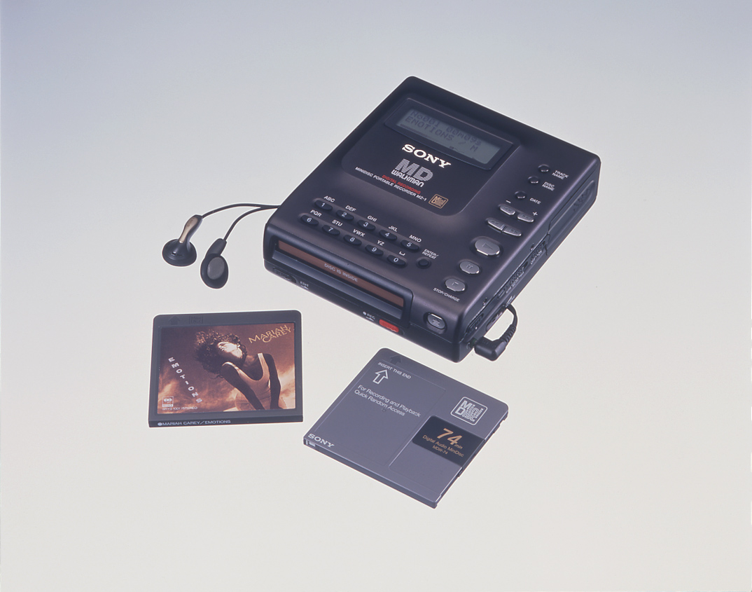 The History Of Walkman 35 Years Iconic Music Players Verge Wiring Diagram 1984 Onwards All Mini Series With Single Instrument Pack Sony Mz 1 Introduced Minidisc Md As Its New Audio Format In 1992 Well This Player