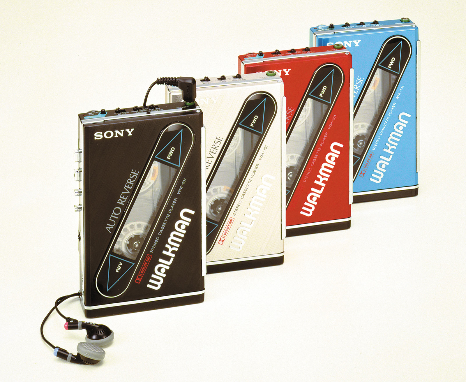 The History Of Walkman 35 Years Iconic Music Players Verge Wiring Diagram 1984 Onwards All Mini Series With Single Instrument Pack Sony Wm 101 First Rechargeable Batteries Slimmer Than Its Predecessors