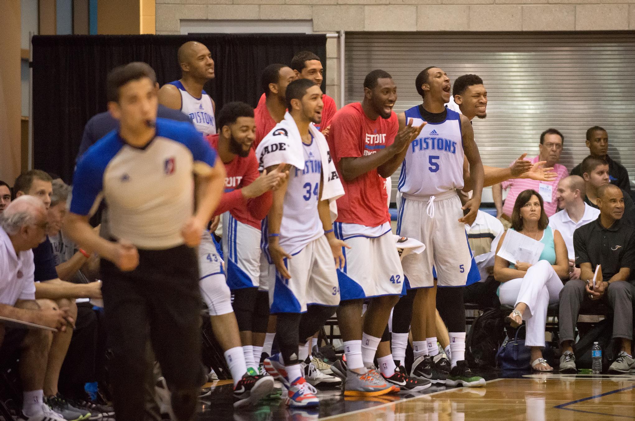 d2515a96766a An inside look at the NBA Summer League in Orlando - Detroit Bad Boys