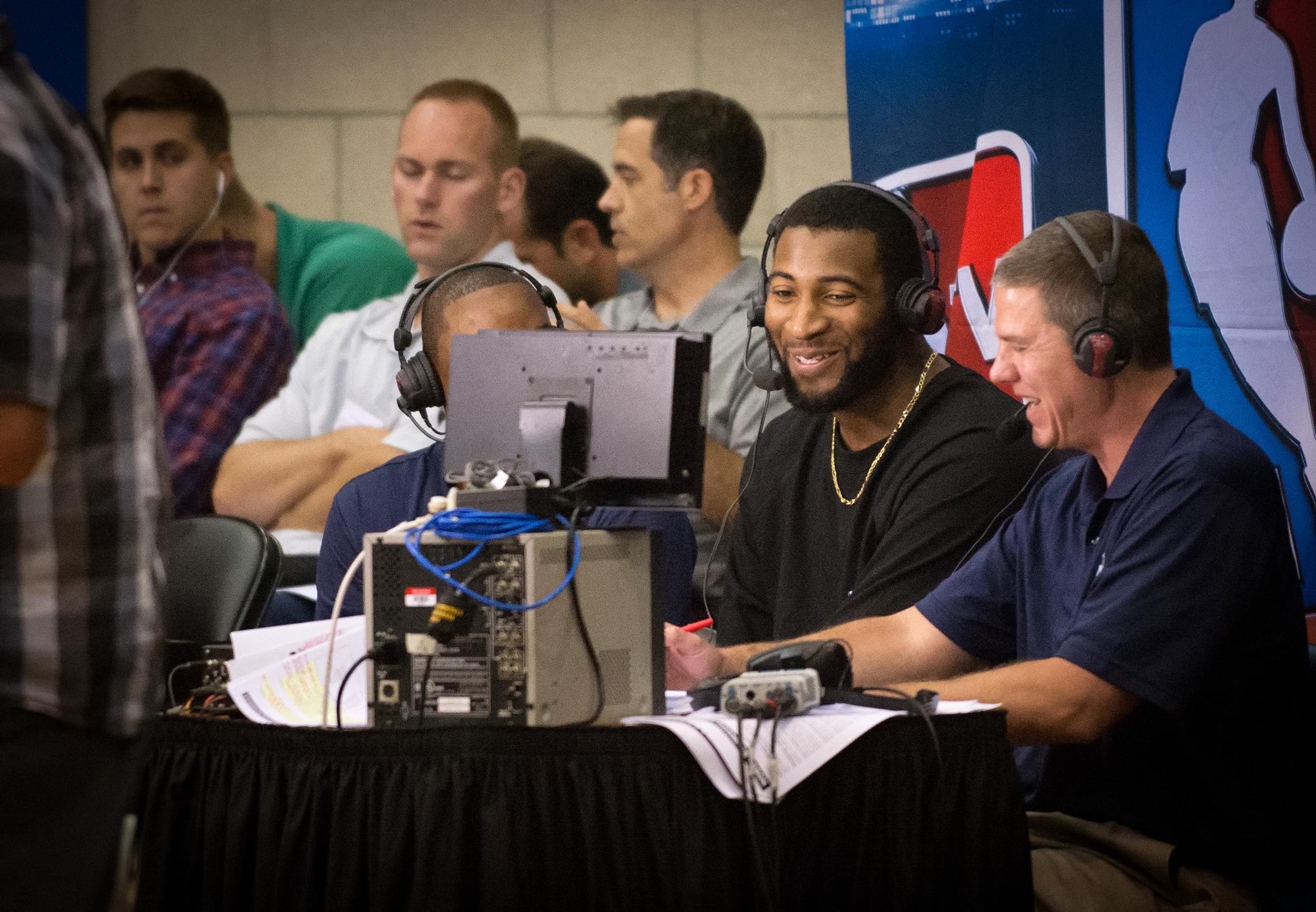1517047bd1aa Drummond talks with Pistons great Isiah Thomas on NBA TV and Rick Kamla
