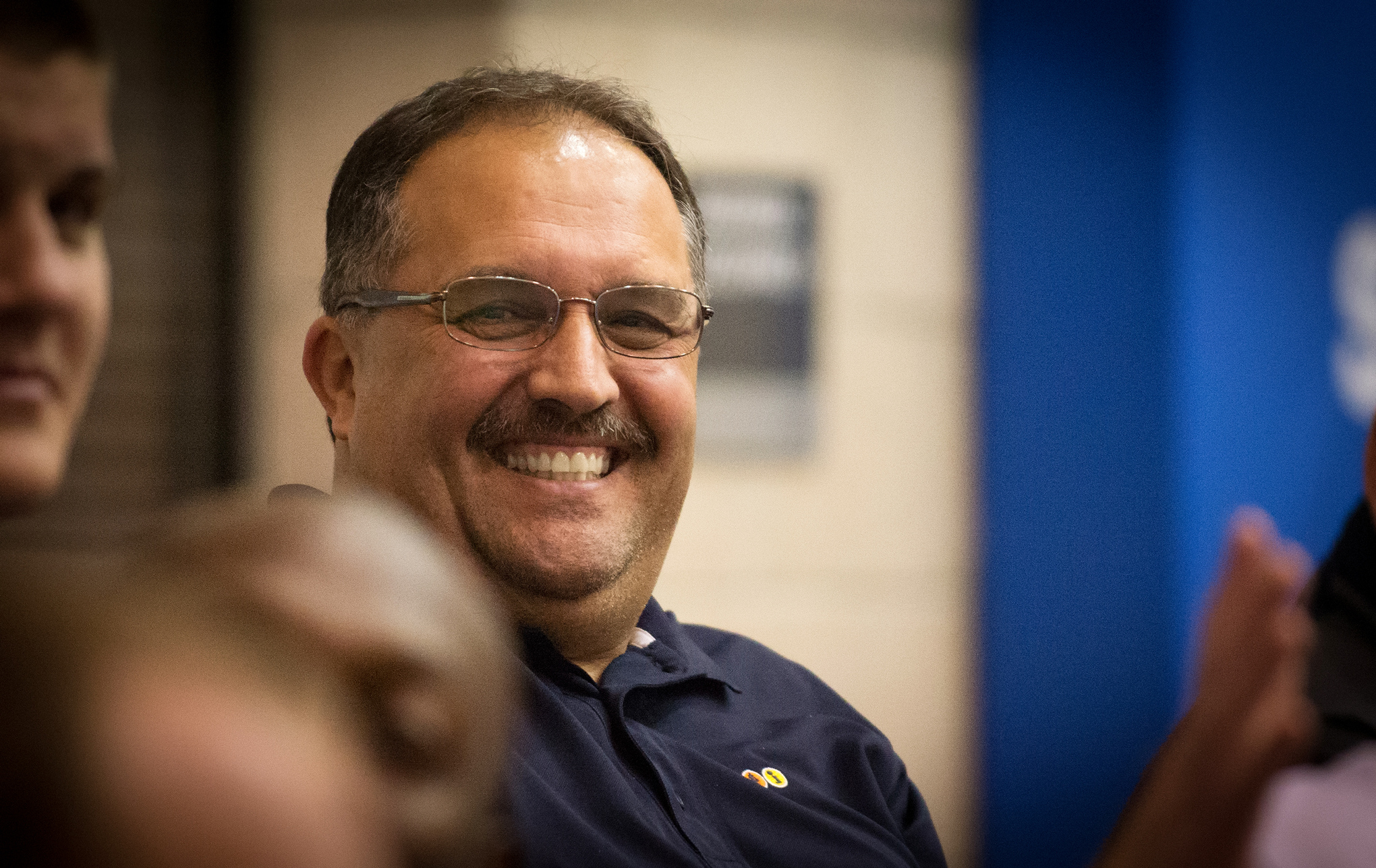6a47002513f4 Stan Van Gundy smiles for the camera The Orlando Summer League was a  homecoming of sorts for Van Gundy
