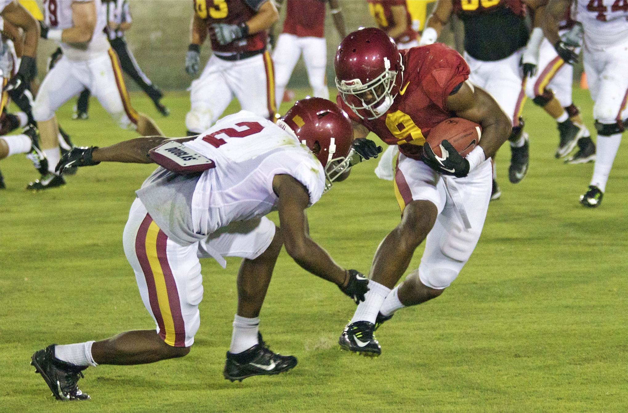 Kevon Seymour Usc Fall Camp Chronicles: ...