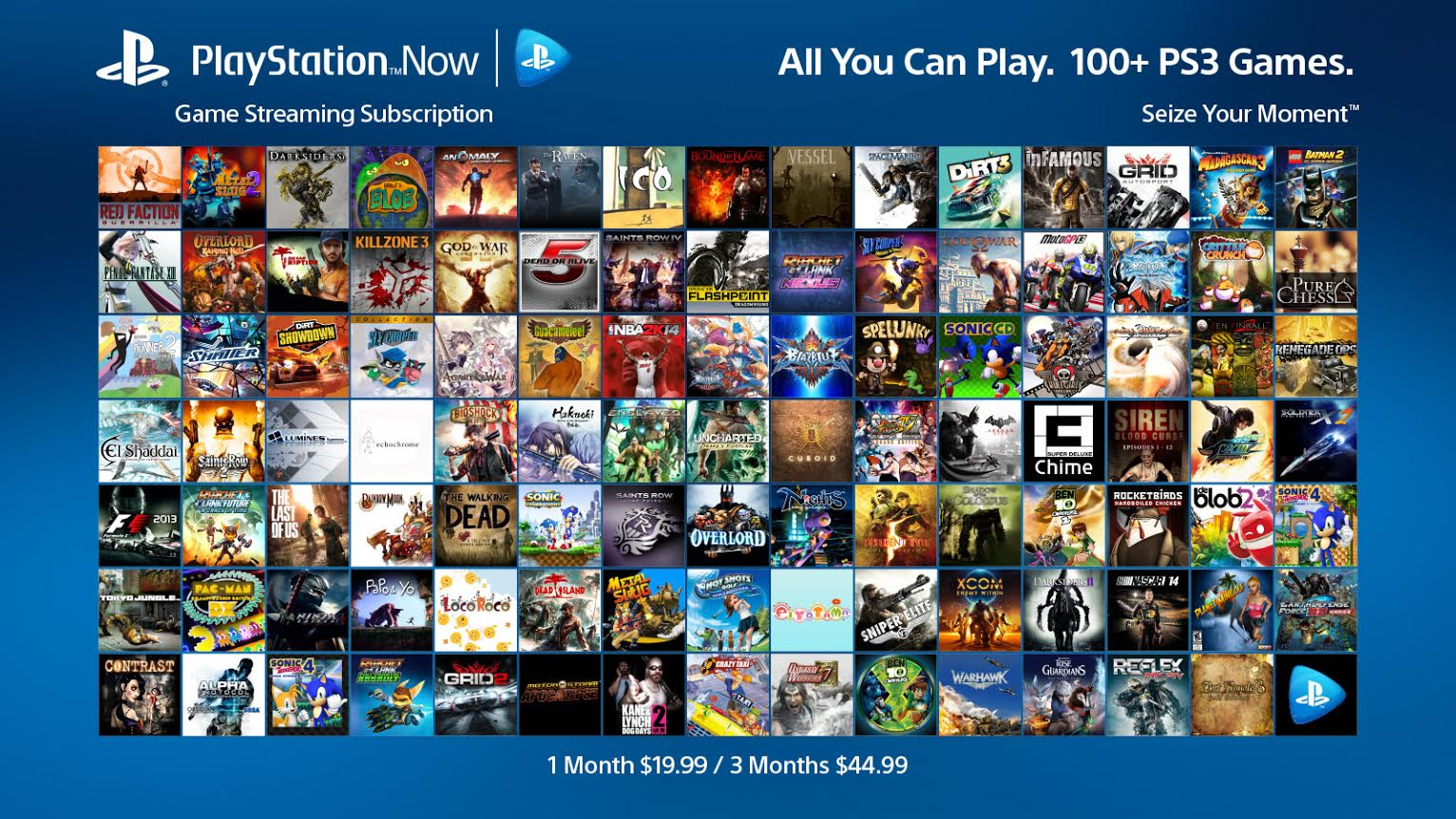 PlayStation Now all-you-can-play subscriptions hit next week for $20 a month, $45 for three months