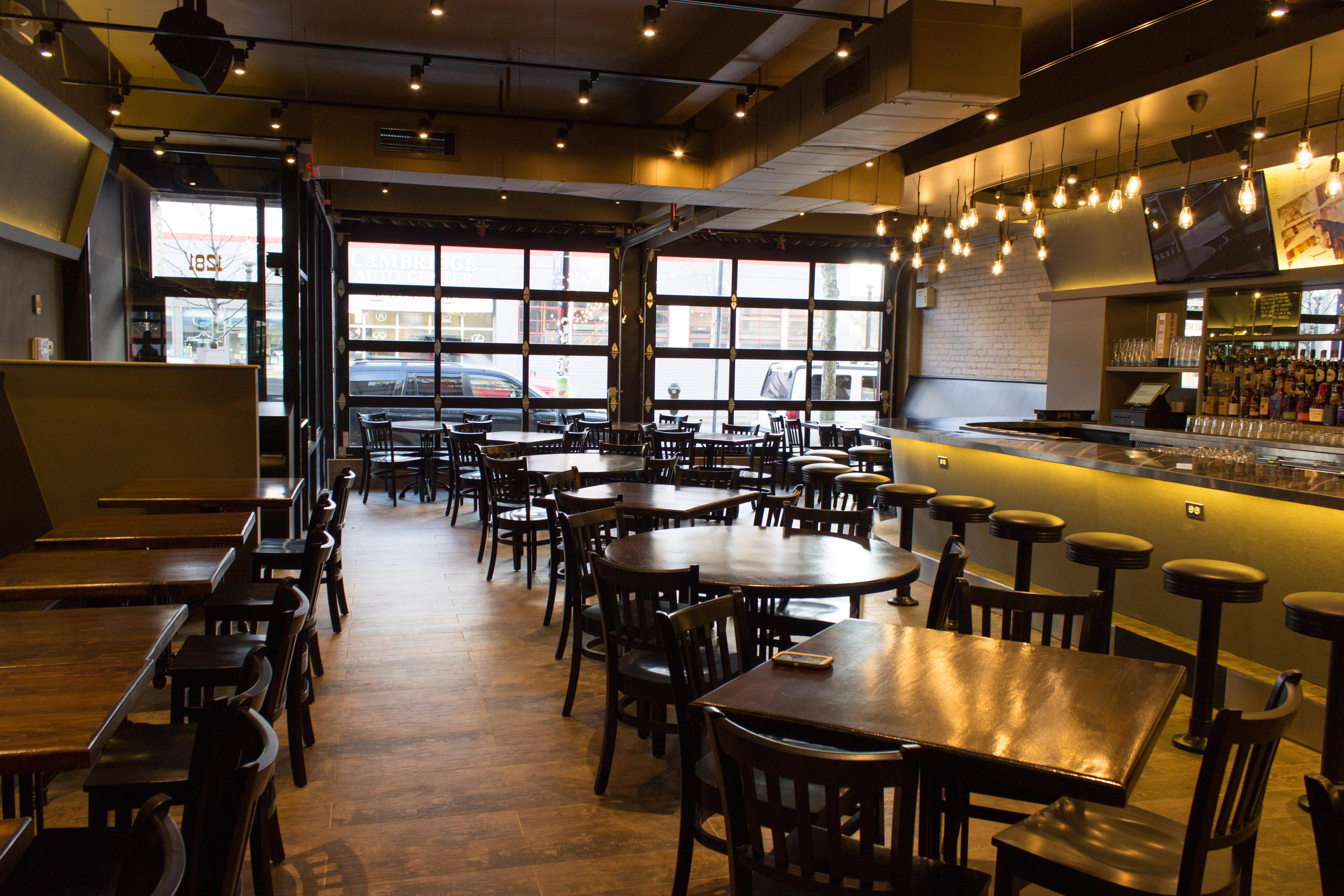 A Bar Stool A Beer And An Antelope Burger Await You At Bukowski