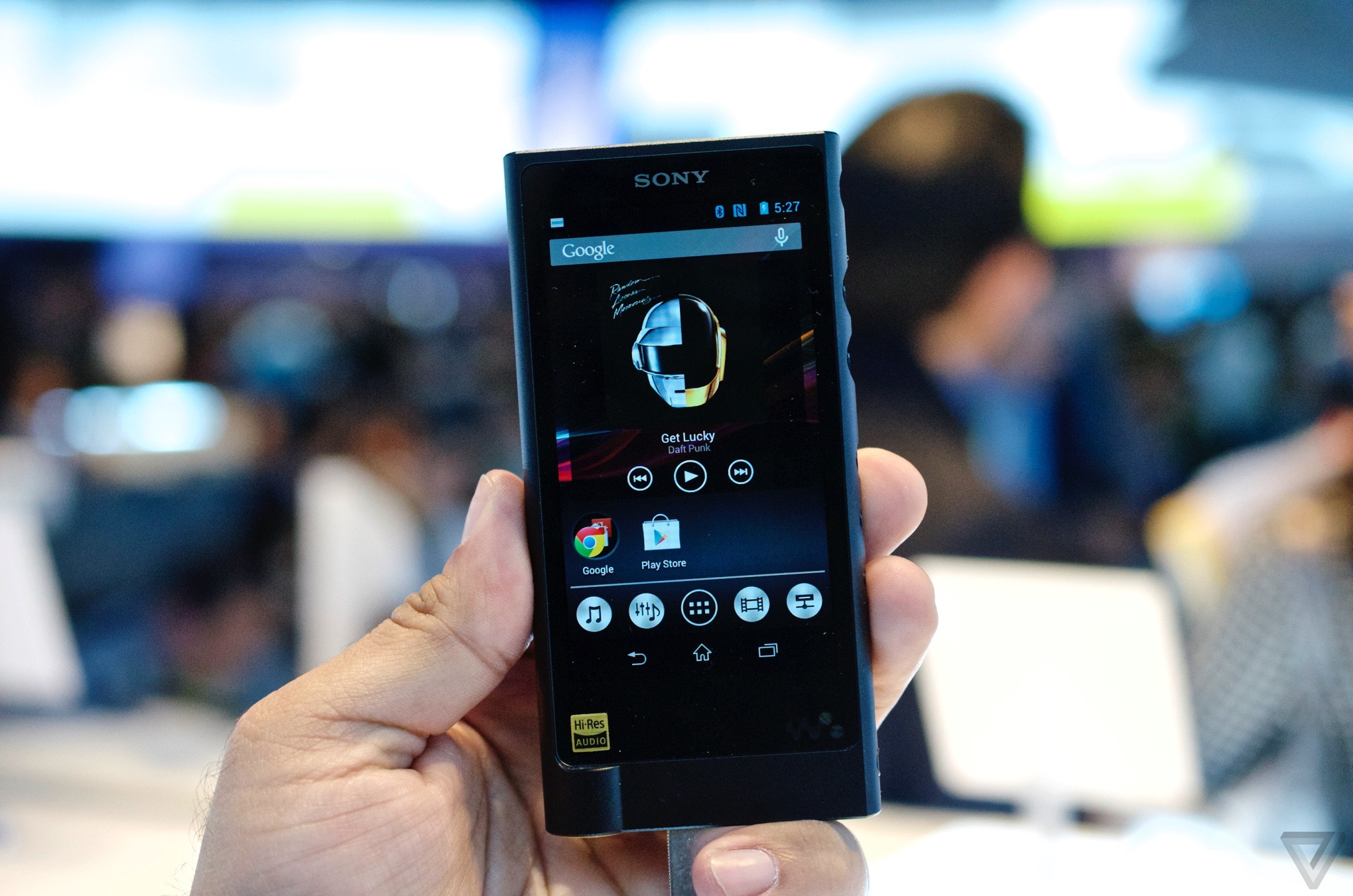 Harga Sony Nw Terbaru 2018 Walkman With High Resolution Audio A36 Black This Is The New Verge See All Latest Ces 2015 News Here