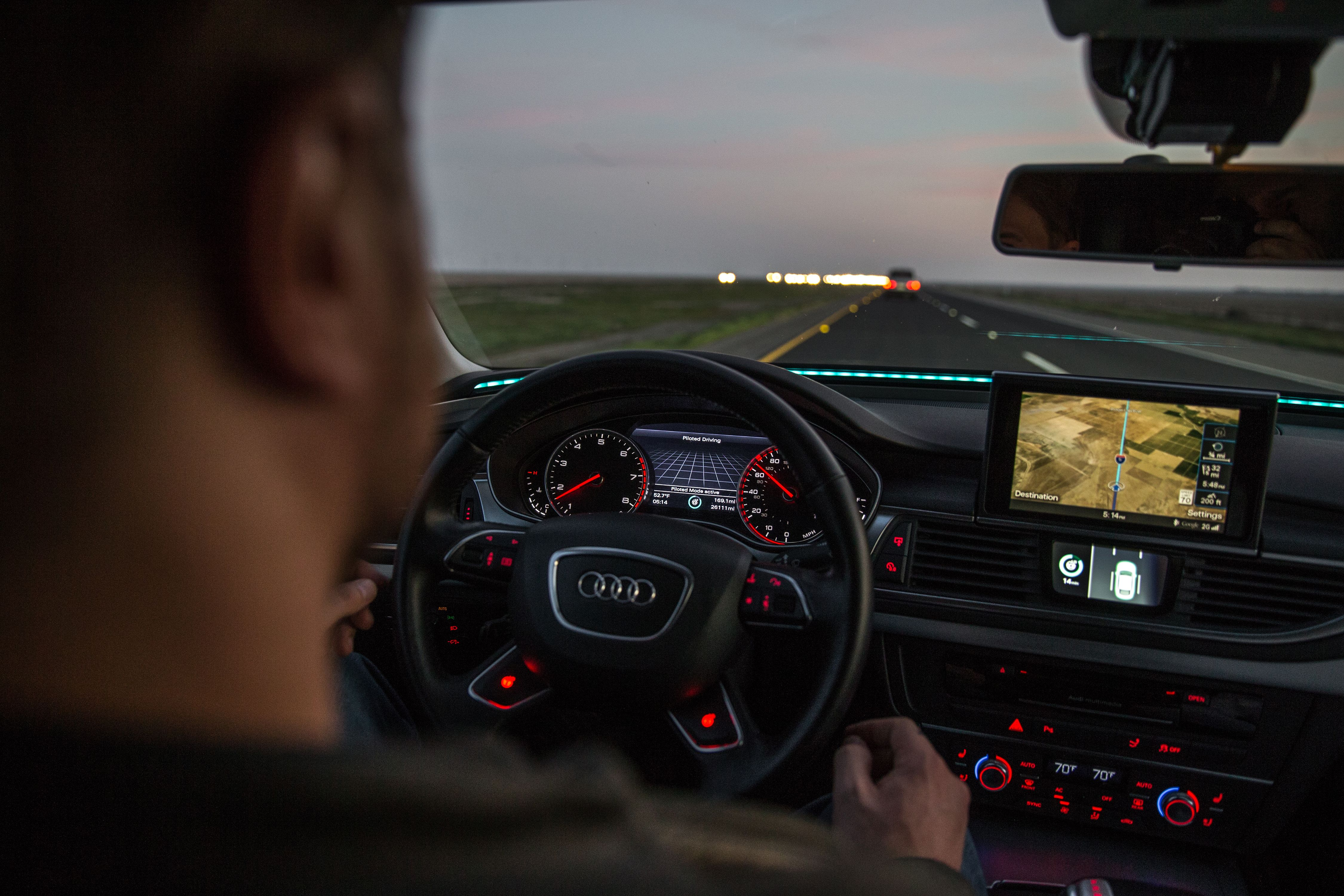 Audis A Sportback Is Driving Itself More Than Miles To CES - Audi car that drives itself