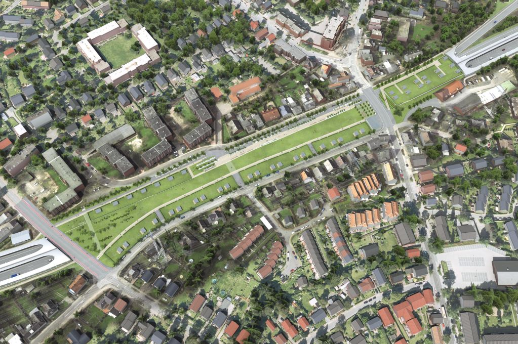 Hamburg is burying the autobahn and putting parks on top vox for Tunnel schnelsen