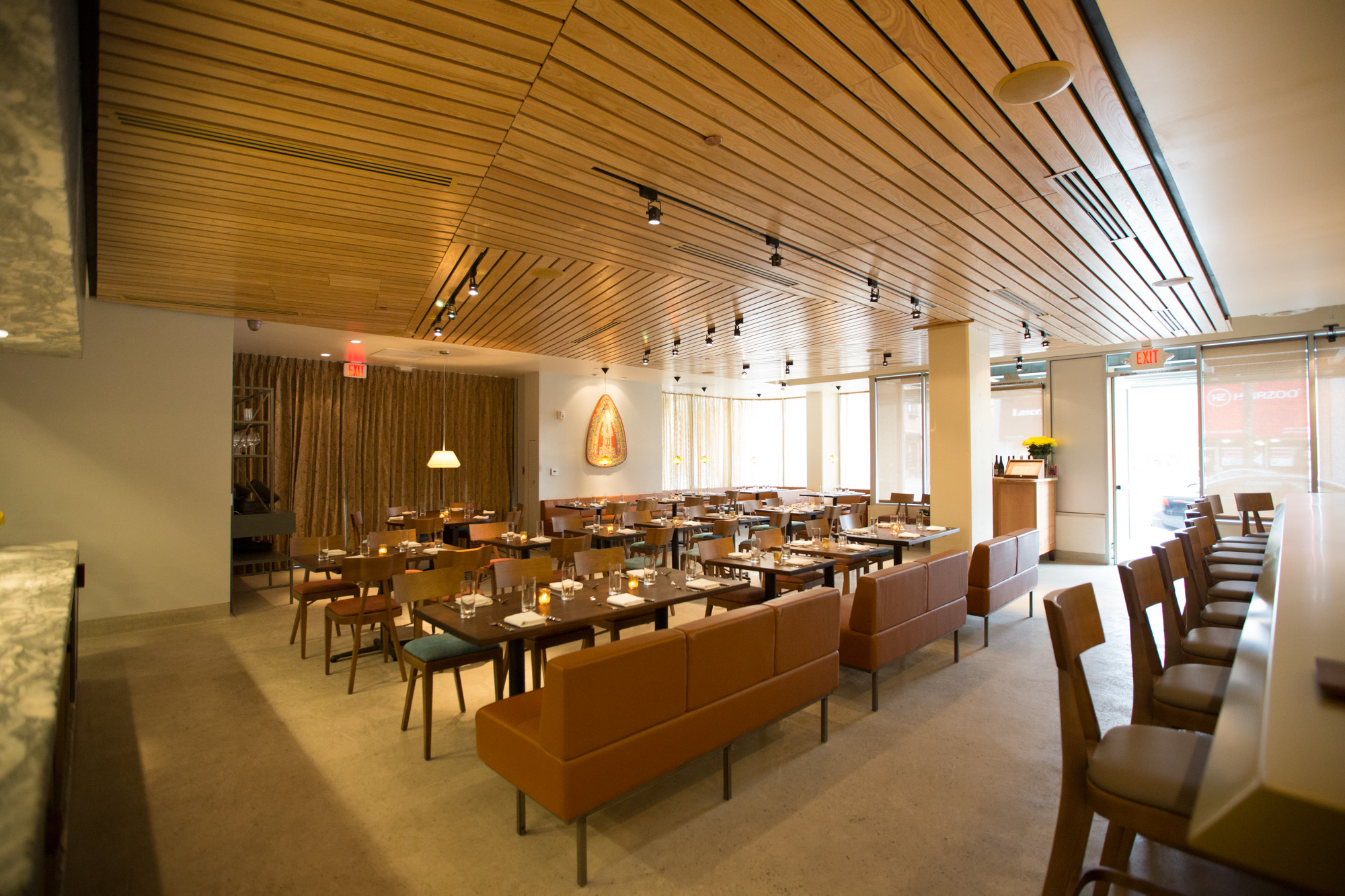 Aestus, A Suave Mid Century Modern Dining Room In The Heart Of Santa Monica