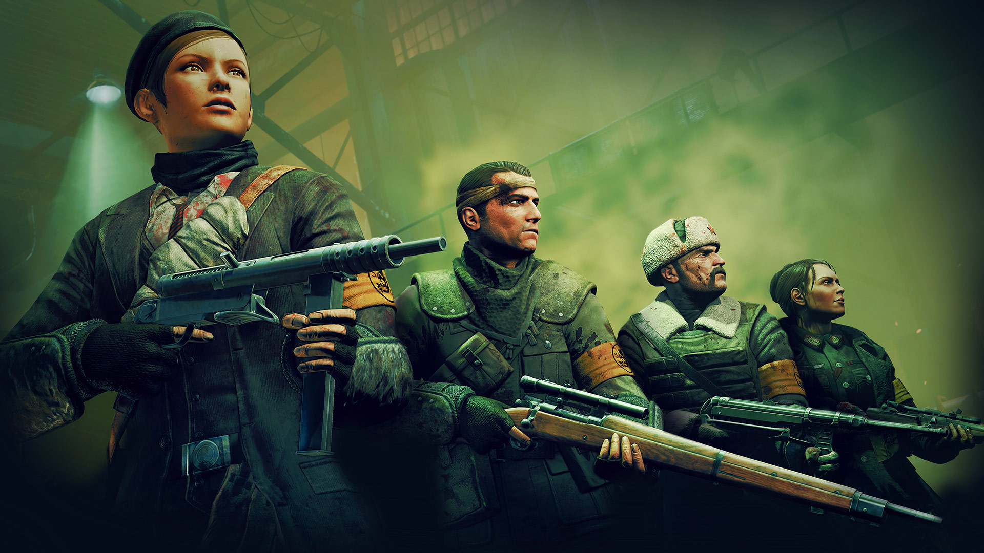 Sniper Elite team's Nazi Zombie Army trilogy coming to PC, PS4, Xbox One