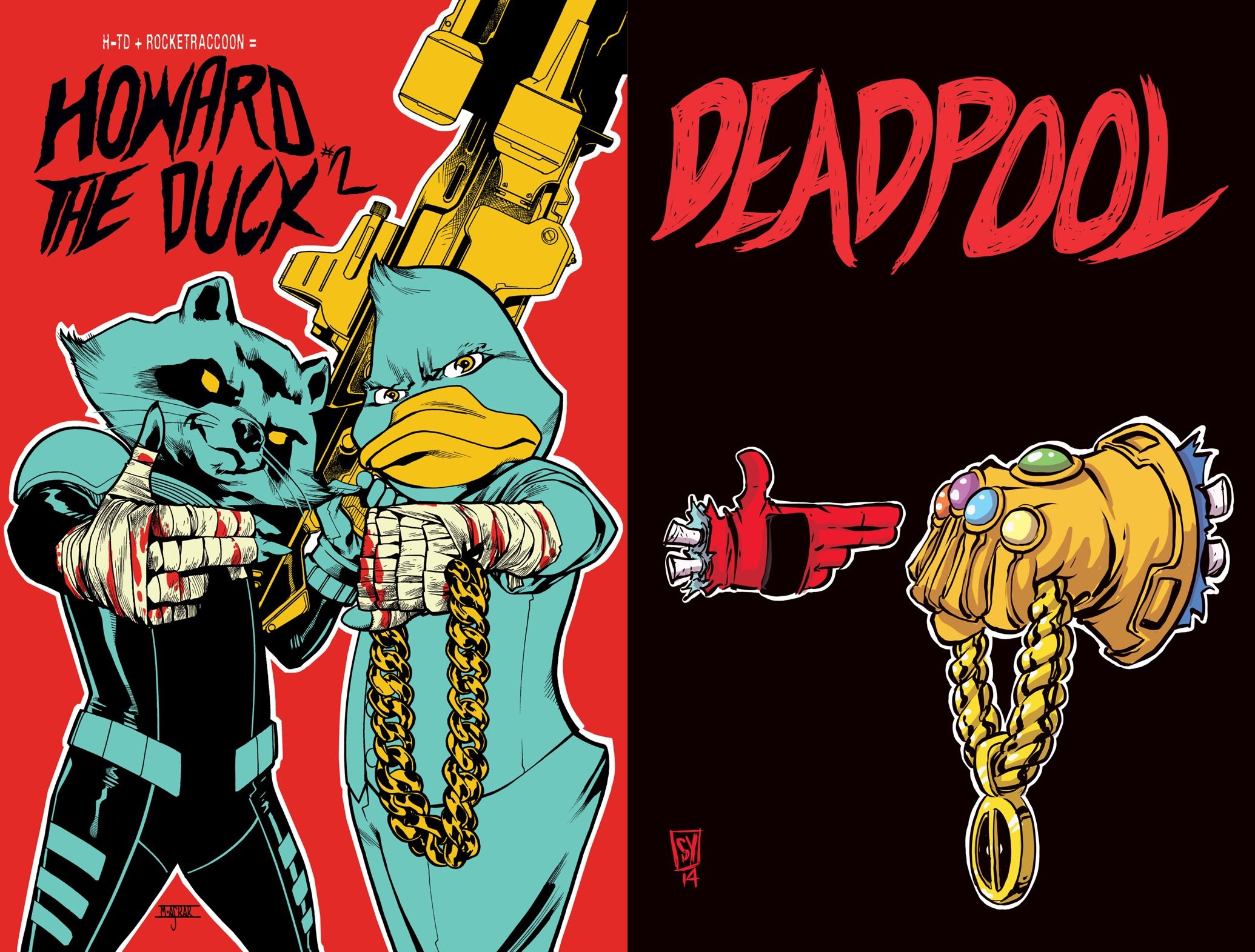 Marvel celebrates Run the Jewels with new Howard the Duck ...