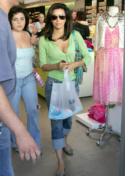 d1187538df8c4 Desperate Housewives star Eva Longoria shops at Kitson.