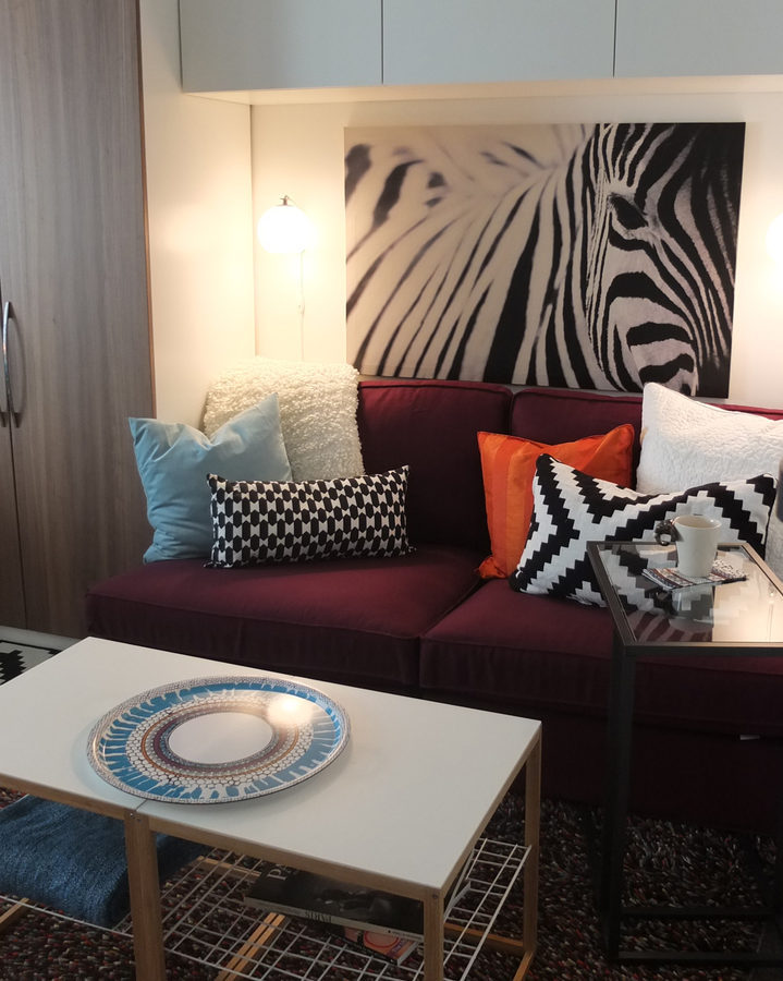 A Stunning D C Studio Apartment Ikea Makeover You Gotta See