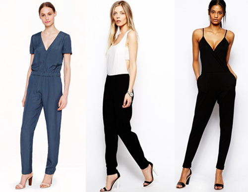 Go with black, navy, or gray; white or bone if you absolutely hate the  bride (obviously); or even red. Why not? You're already wearing a jumpsuit. - Jumpsuits At Weddings: Why And How - Racked