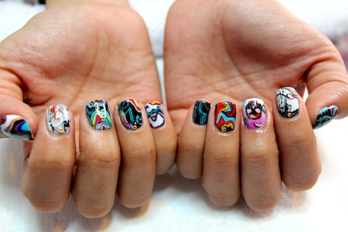 Meet chicagos most badass nail artists astrowifey spifster and how you chose your nail artist name its a long and funny story that i usually share during a nail appointment prinsesfo Image collections